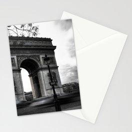 Paris : Arc de Triomphe, défaite d'aujourd'hui Stationery Cards