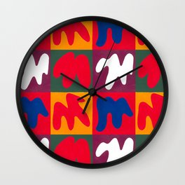 M for Matisse Wall Clock