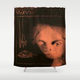 Winters Hymn: Part 119, Digital Drawing Shower Curtain