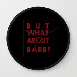 Barb:Stranger Things - tvshow Wall Clock