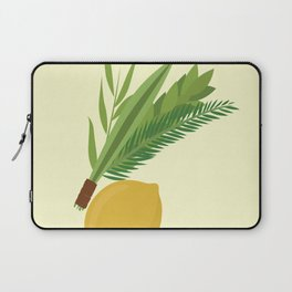 Wish You a Very Joyful Sukkot Laptop Sleeve