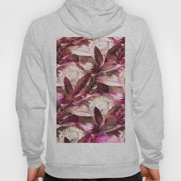 Flowers and Leaves - A Pattern Hoody