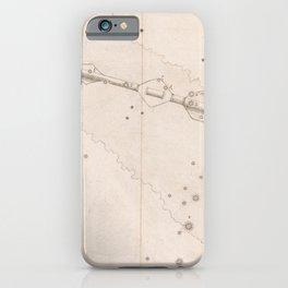 Johann Bayer - Uranometria / Measuring the Heavens (1661) - 15 Sagitta / Arrow iPhone Case