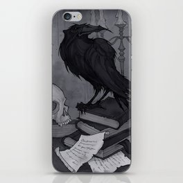Once upon a Midnight Dreary iPhone Skin