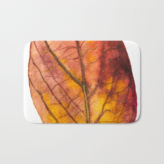 Autumn Leaf 03 Bath Mat