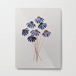 Corn Flowers Metal Print