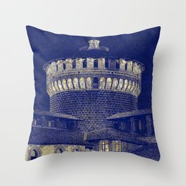 The Castle #1 Throw Pillow