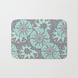 Abstract ethnic pattern Bath Mat
