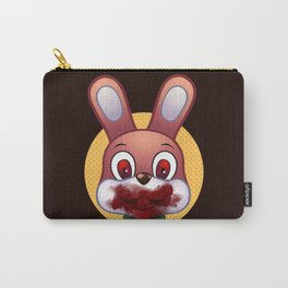 Robbie The Rabbit Bloodied Carry-All Pouch