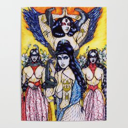 Cleopatra The Sacrifice : Limited Edition Poster