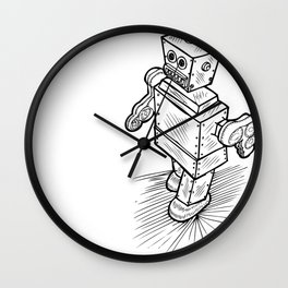 Little Timmy Robot Wall Clock
