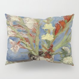 "Vincent Van Gogh ""Vase with Gladioli and Chinese Asters"" Pillow Sham"