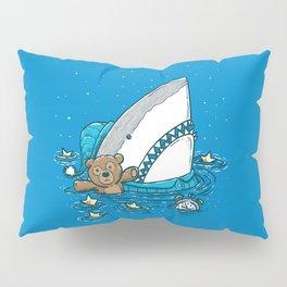 The Sleepy Shark Pillow Sham