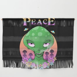 We Come In Peace Wall Hanging