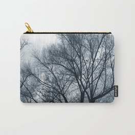 Bare Trees on a Grey Day Carry-All Pouch
