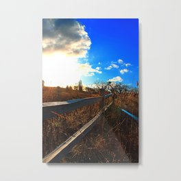 Sandy River Delta Park - Autumn Metal Print