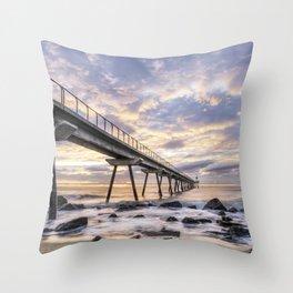 Pont del Petroli (Badalona, Catalonia) Throw Pillow
