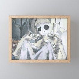 Jack's Thoughtful Spot Framed Mini Art Print