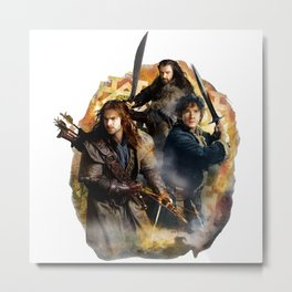 Durin's Sons and The Burglar Metal Print