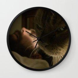 Cat killer Wall Clock