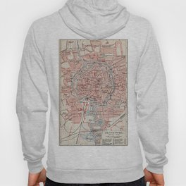 Vintage Map of Braunschweig Germany (1905)  Hoody