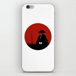 Meditating Samurai Warrior iPhone Skin