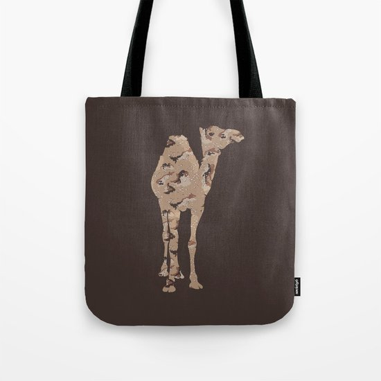 Camelflage Tote Bag