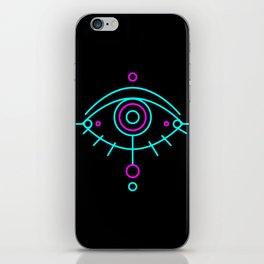 Eye of awakening black version iPhone Skin