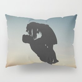 WOMAN - MAN - MOON - SUNSET - PHOTOGRAPHY Pillow Sham