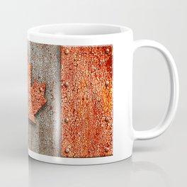 Rusty Maple Leaf. Coffee Mug