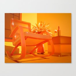 Attractive Solitude Canvas Print