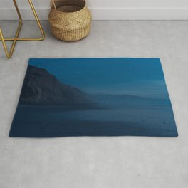 Black's Beach at Dusk Rug