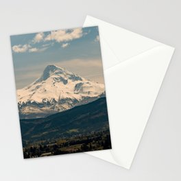 Mountain Valley Pacific Northwest - Nature Photography Stationery Cards