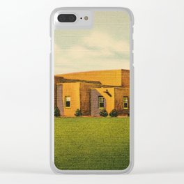 Old  Days in Albuquerque Clear iPhone Case