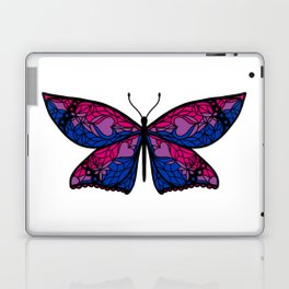 Fly With Pride: Bisexual Flag Butterfly Laptop & iPad Skin