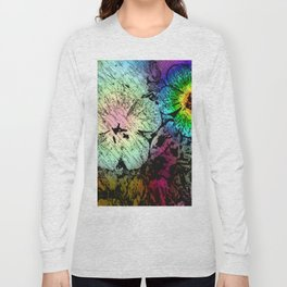 Abstractly drawn, surreal colored  ... Long Sleeve T-shirt