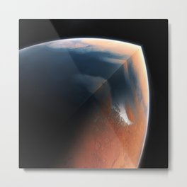 The Red Giant Metal Print