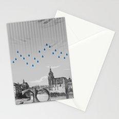 La lluvia en Bilbao es una pura maravilla Stationery Cards