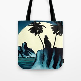 Wolf Bay Tote Bag