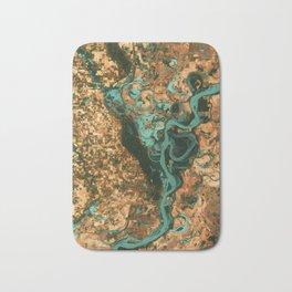 Mississippi River - NASA Bath Mat