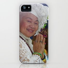 Thankful For Lace iPhone Case