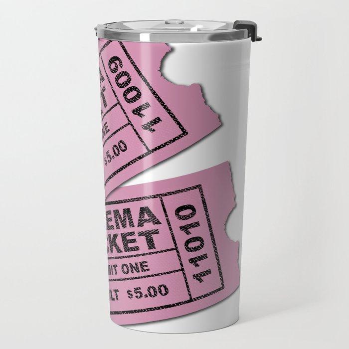 Cinema Tickets Travel Mug