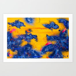 These Fleeting Moments Trapped In Eternity Art Print