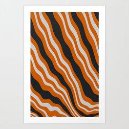Melting Bacon Art Print