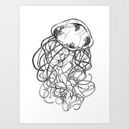 Deadly Beauty Art Print