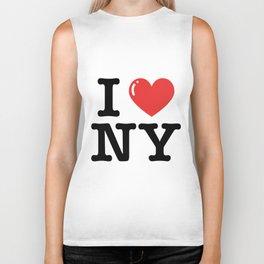 I love newyork american t-shirts Biker Tank