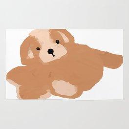 Soft Vector Puppy Rug
