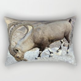 Nubian Ibex Rectangular Pillow