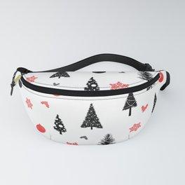 Seamless christmas pattern #christmas #xmas Fanny Pack