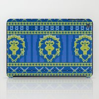 warcraft iPad Cases featuring Ugly Sweater 1 by SlothgirlArt